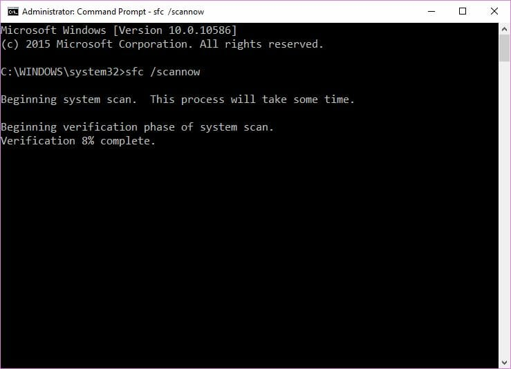 CRITICAL_PROCESS_DIED sfc scannow windows 10