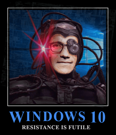 resistance is futile windows 10