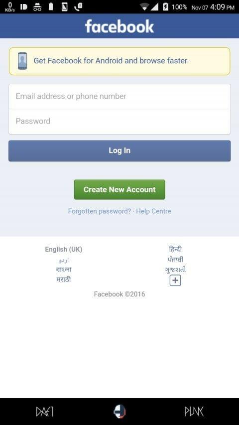 fb-mobile-website