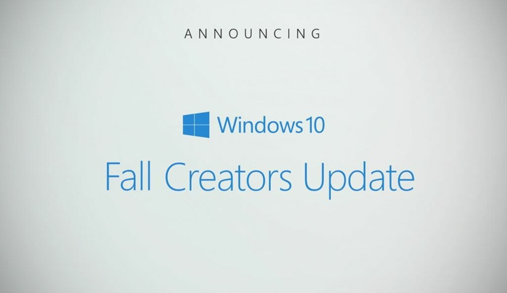 Windows 10 Fall Creators Update WiFi disconnecting